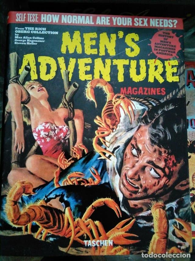 MEN'S ADVENTURE MAGAZINE - TASCHEN - 511 PAGINAS (Cine - Revistas - Otros)