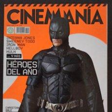 Cine: CINEMANIA NÚMERO 148 ENERO 2008. Lote 220499492
