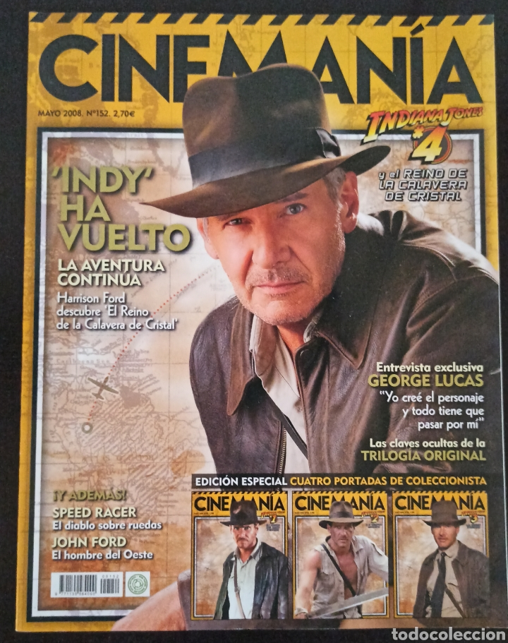 CINEMANIA NÚMERO 152 MAYO 2008 (Cine - Revistas - Cinemanía)