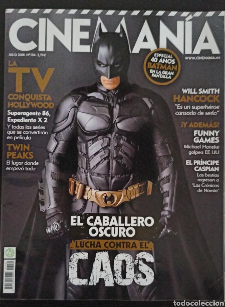 CINEMANIA NÚMERO 154 JULIO 2008 (Cine - Revistas - Cinemanía)