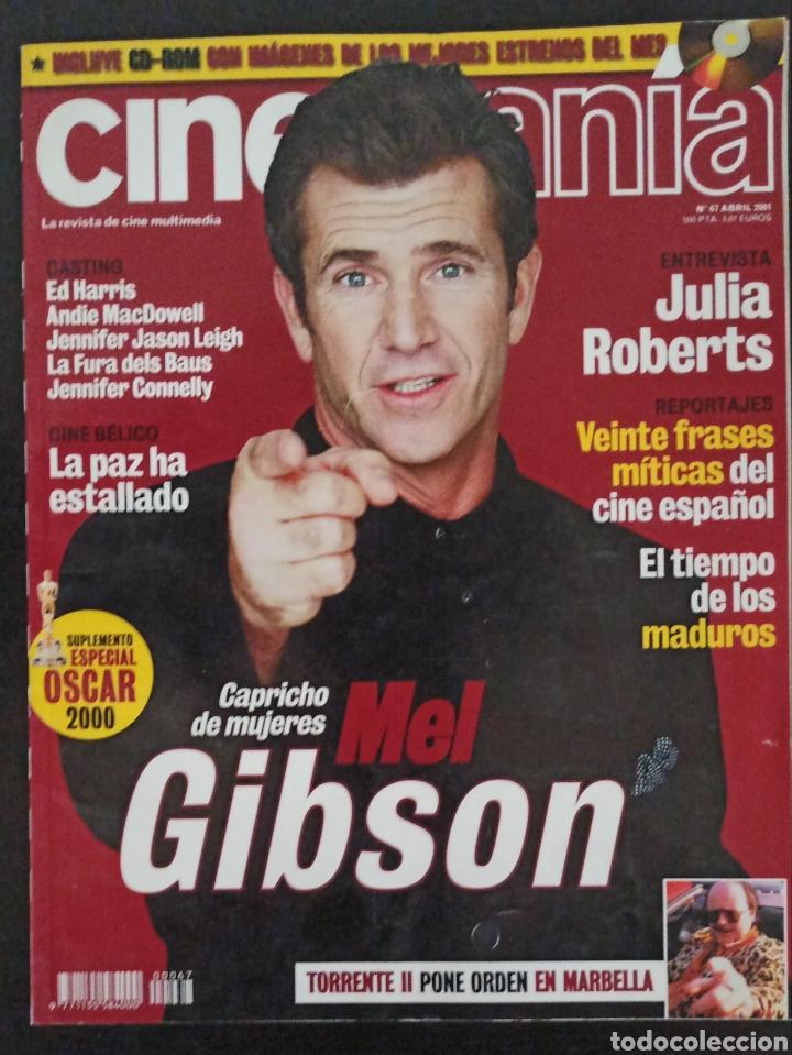 CINEMANIA NÚMERO 67 ABRIL 2001 (Cine - Revistas - Cinemanía)