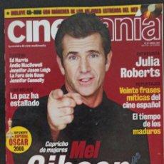 Cine: CINEMANIA NÚMERO 67 ABRIL 2001. Lote 220501336
