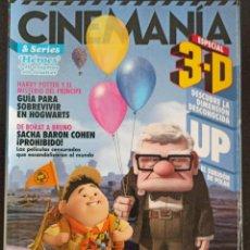 Cine: CINEMANIA JULIO 2009. Lote 220502110