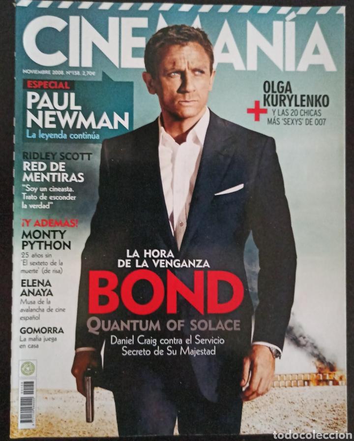 CINEMANIA NÚMERO 158 NOVIEMBRE 2008 (Cine - Revistas - Cinemanía)