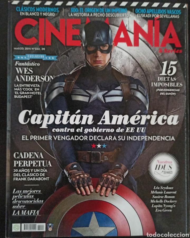 CINEMANIA NÚMERO 222 MARZO 2014 (Cine - Revistas - Cinemanía)