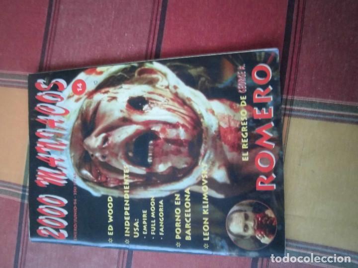2000 MANIACOS REVISTA N 14 (Cine - Revistas - Otros)