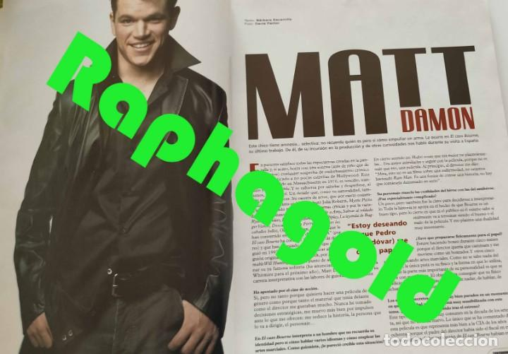 Cine: Revista CINEMANÍA nº 86 Halle Berry James Bond Terminator Matt Damon Leonor Watling Al Pacino - Foto 5 - 220855395