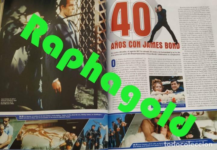 Cine: Revista CINEMANÍA nº 86 Halle Berry James Bond Terminator Matt Damon Leonor Watling Al Pacino - Foto 8 - 220855395