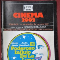 Cine: CINEMA 2002 NÚMERO 65-66. Lote 220963155
