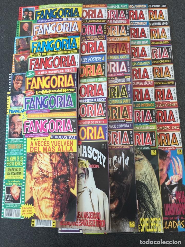 FANGORIA ESPAÑA - COMPLETA 35 NÚMEROS CON POSTERS - REVISTA DE TERROR - EDICIONES ZINCO 1991 ¡NUEVA! (Cine - Revistas - Fangoria)
