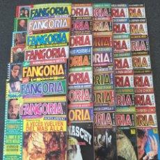 Cine: FANGORIA ESPAÑA - COMPLETA 35 NÚMEROS CON POSTERS - REVISTA DE TERROR - EDICIONES ZINCO 1991 ¡NUEVA!. Lote 220963760