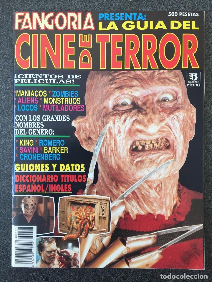 FANGORIA PRESENTA LA GUÍA DEL TERROR - EDICIONES ZINCO - 1993 - ¡NUEVA! (Cine - Revistas - Fangoria)