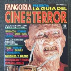 Cine: FANGORIA PRESENTA LA GUÍA DEL TERROR - EDICIONES ZINCO - 1993 - ¡NUEVA!. Lote 220965880