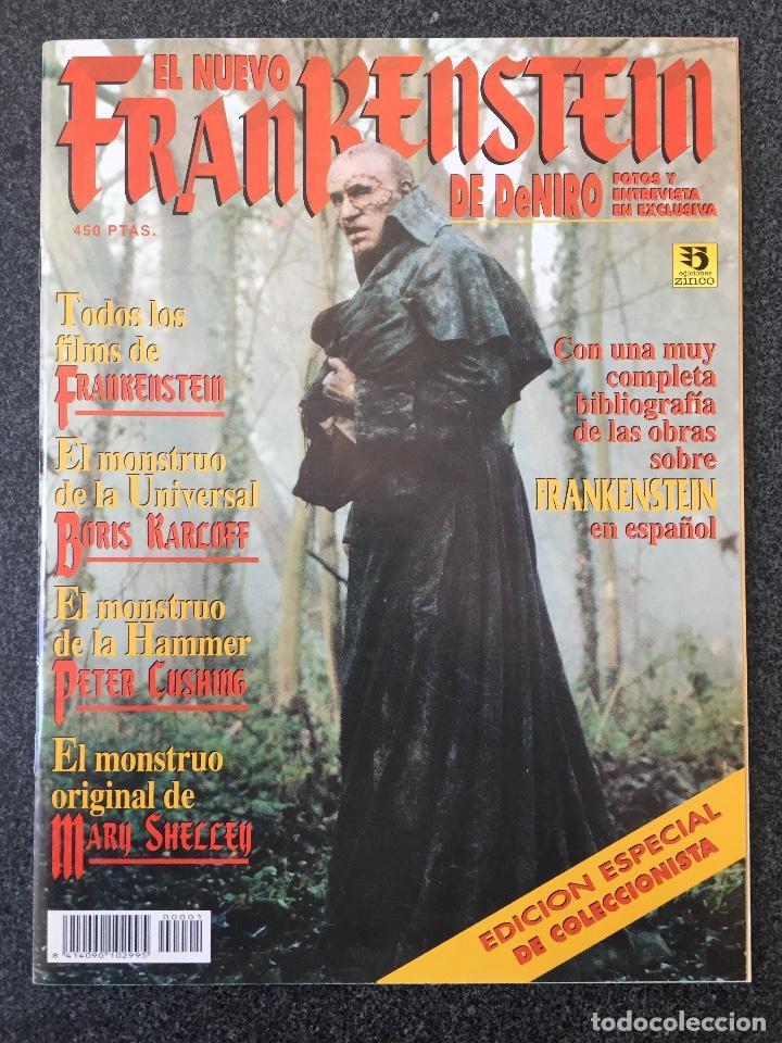 EL NUEVO FRANKENSTEIN DE DENIRO - EDICIONES ZINCO - 1995 - ¡NUEVO! (Cine - Revistas - Fangoria)