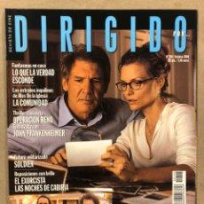 Cine: DIRIGIDO POR N° 294 (2000). HERMANOS COHEN, ALEX DE LA IGLESIA, LO QUE LA VERDAD ESCONDE,.... Lote 220979071