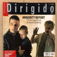 Cine: DIRIGIDO POR N° 315 (2002). ESPECIAL WESTERN, STEVEN SPIELBERG, WOODY ALLEN, M. NIGHT SHYAMALAN,.... Lote 220979343