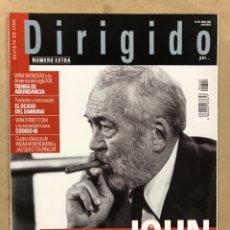 Cine: DIRIGIDO POR N° 344 (2005). DOSSIER ESPECIAL JOHN HUSTON, INGMAR BERGMAN, JACQUES TOURNEUR. Lote 220980066