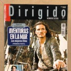 Cine: DIRIGIDO POR N° 356 (2006). ESPECIAL AVENTURAS EN LA MAR (LOS MEJORES FILMS), ANDREI TARKOVSKI,.... Lote 220980507