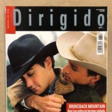 Cine: DIRIGIDO POR N° 352 (2006). FRANKLIN J. SCHAFFNER, BROKEBACK MOUNTAIN, SCORSESE, EASTWOOD,.... Lote 220981781