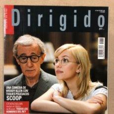 Cine: DIRIGIDO POR N° 360 (2006). MILOS FORMAN, WOODY ALLEN, BRIAN DE PALMA, ALFONSO CUARON,.... Lote 220982200
