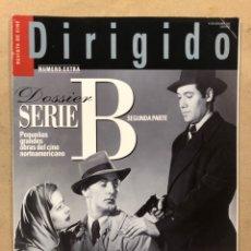 Cine: DIRIGIDO POR N° 328 (2003). DOSSIER SERIE B, RIDLEY SCOTT, YASUJIRO OZU, ZHANG YIMOU,.... Lote 220983178