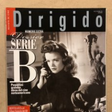 Cine: DIRIGIDO POR N° 327 (2003). DOSSIER SERIE B, BERTOLUCCI, PAOSLINI, CLINT EASTWOOD,.... Lote 220983432