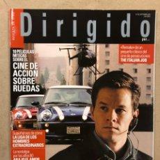Cine: DIRIGIDO POR N° 326 (2003). CINE ACCIÓN SOBRE RUEDAS, WIM WENDERS, THE ITALIAN JOB,.... Lote 220984353