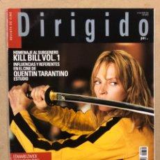 Cine: DIRIGIDO POR N° 330 (2004). KILL BILL, PRESTON STUTGES, LOST IN TRANSLATION, EL ÚLTIMO SAMURAI,.... Lote 220984882