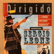 Cine: DIRIGIDO POR N° 326 (2004). ESPECIAL SERGIO LEONE,.... Lote 220985242