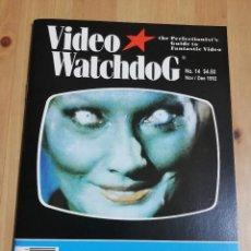 Cinema: REVISTA VIDEO WATCHDOG NO. 14 NOV / DEC 1992 (CURTIS HARRINGTON). Lote 221159293