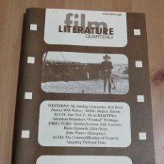 Cine: REVISTA LITERATURE / FILM QUARTERLY VOL. 24, NO. 2 (1996) MY DARLING CLEMENTINE / RED RIVER / .... Lote 221164943