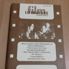 Cine: REVISTA LITERATURE / FILM QUARTERLY VOL. 25, NO. 4 (1997) VAL LEWTON'S CAT PEOPLE. Lote 221166507