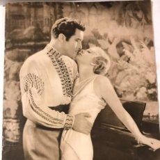 Cine: POPULAR FILM NOVIEMBRE 1930 NUM 223 JOHN BOLES Y EVELYN LAGE. Lote 221293225