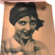 Cine: POPULAR FILM JUNIO 1929 NUM 149 NORMA TALMADGE. Lote 221295547