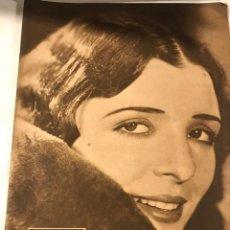 Cine: POPULAR FILM ENERO 1931 NUM 231 MONA MARIS ERNESTO VILCHES. Lote 221295765