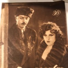 Cine: POPULAR FILM AGOSTO 1929 NUM 157. Lote 221299293