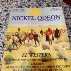 Cine: REVISTA NICKEL ODEON. EL WESTERN. REVISTA TRIMESTRAL DE CINE. Lote 221355532