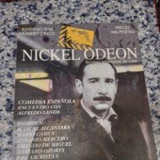 Cine: NICKEL ODEON. REVISTA TRIMESTRAL DE CINE. N°5 MONOGRÁFICO COMEDIA ESPAÑOLA ALFREDO LANDA. Lote 221356441