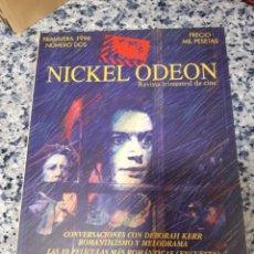Cinéma: REVISTA DE CINE NICKEL ODEON. N°2. Lote 221357585