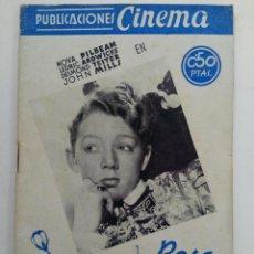 Cine: LA ROSA DE LOS TUDOR - PUBLICACIONES CINEMA. Lote 221373593