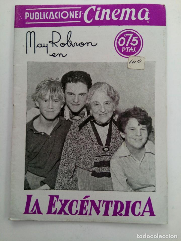 PUBLICACIONES CINEMA Nº 65 - LA EXCÉNTRICA (Cine - Revistas - Cinema)