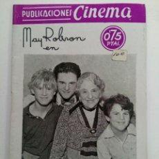 Cine: PUBLICACIONES CINEMA Nº 65 - LA EXCÉNTRICA. Lote 221373846
