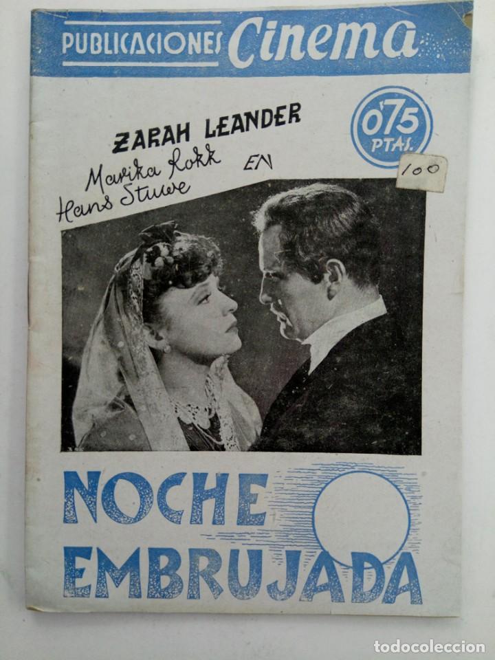 PUBLICACIONES CINEMA Nº 76 - NOCHE EMBRUJADA (Cine - Revistas - Cinema)
