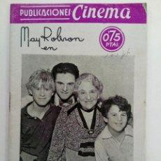 Cine: PUBLICACIONES CINEMA Nº 65 - LA EXCÉNTRICA. Lote 221374280