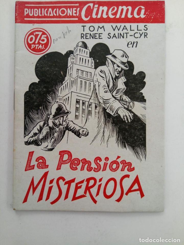 PUBLICACIONES CINEMA Nº 77 - LA PENSIÓN MISTERIOSA (Cine - Revistas - Cinema)
