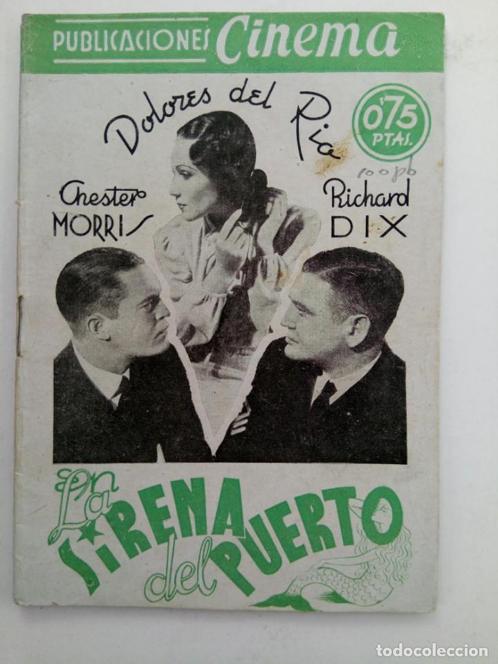 PUBLICACIONES CINEMA Nº 70 - LA SIRENA DEL PUERTO (Cine - Revistas - Cinema)