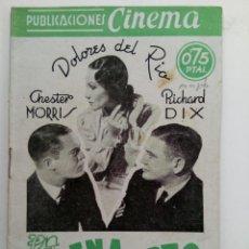 Cine: PUBLICACIONES CINEMA Nº 70 - LA SIRENA DEL PUERTO. Lote 221374497