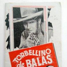 Cine: TORBELLINO DE BALAS - EDITORIAL GRAFIDEA. Lote 221374626