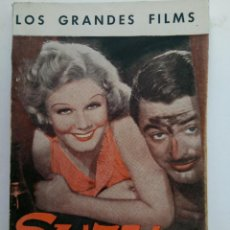 Cine: LOS GRANDES FILMS - SUZI - EDICIONES CINEMATOGRÁFICAS. Lote 221374678