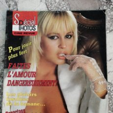 Cinema: SPECIAL PHOTOS CINE REVUE N. 16. LA FRENESIE SEXUALEE DES STARS SCANDINAVES. SUZY ANNE. Lote 221408022